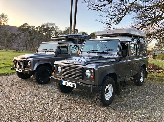 Highland Defenders: Matching 110's and iKamper roof tents