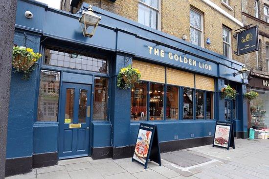 The Golden Lion London 57 Fulham High St Restaurant Reviews Photos Phone Number Tripadvisor