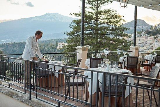 Timeo Restaurant's terrace