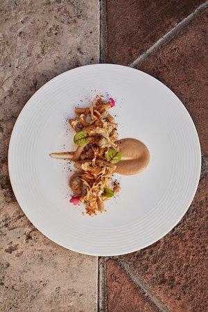 One of Chef Toro's creations