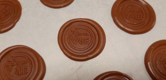 Marchio in cioccolato