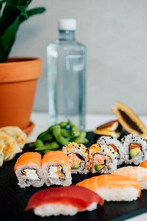 Sushi menú