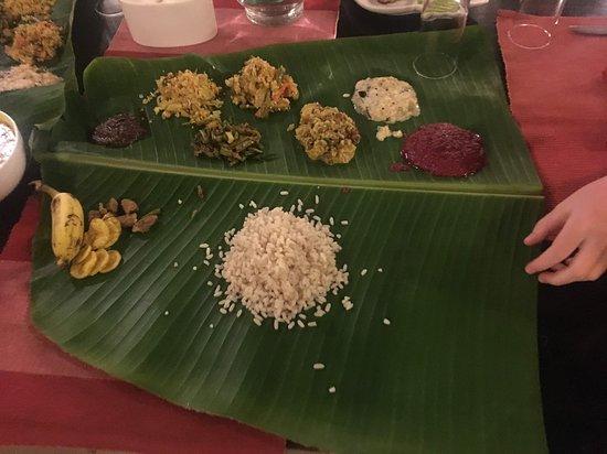Kerelan wedding feast... Yum!