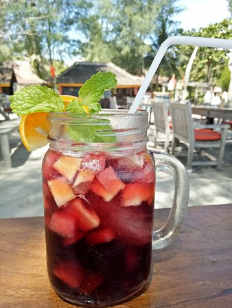 The BEST sangria on the Island