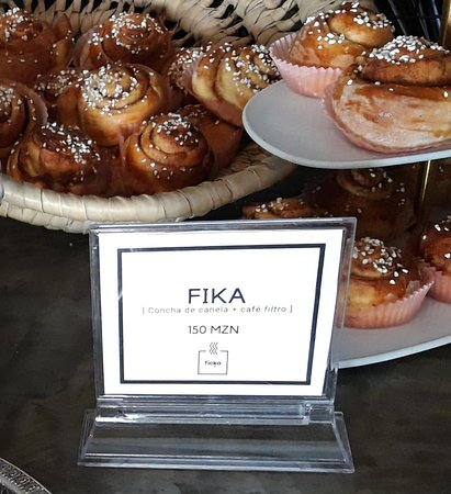 Come and try our Fika. A filter coffee from Niassa and a cinnamon, a Swedish Classic.