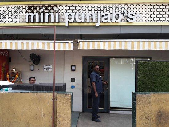 Mini Punjab: Entrance of the Restaurant