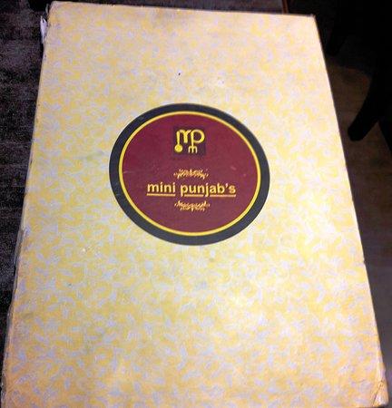 Mini Punjab: Menu Cover