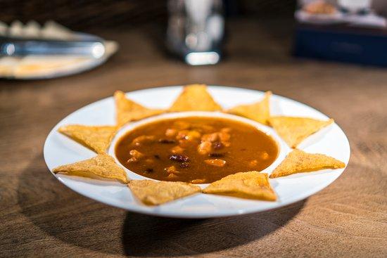 Hola AMIGOS: Sopa de Tortilla Mexicana Picante
