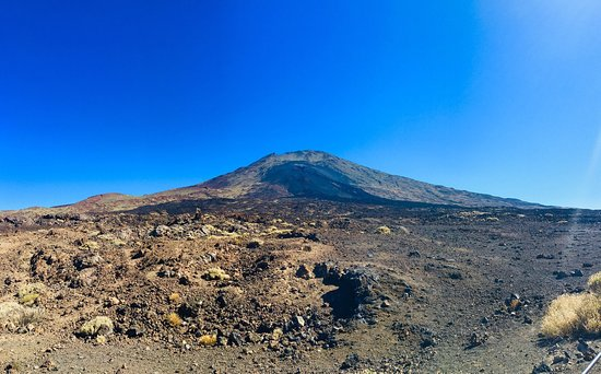 Tenerife, Španělsko: Удивительное место !!!! Как будто в космосе побывала!!! ))))