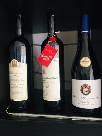 Carta del vino 2019