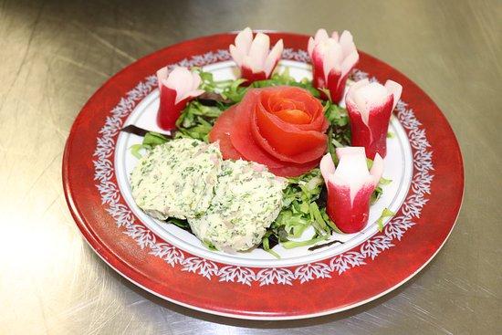 Le Restaurant D'Application - Les Gourmands Disent: Crudités en Fleurs