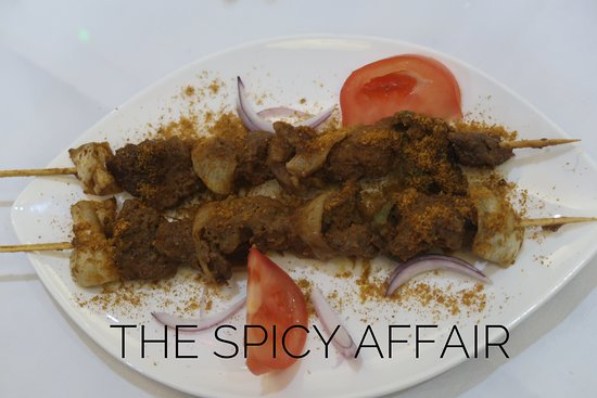 The Spicy Affair: House Special Goat Kebab