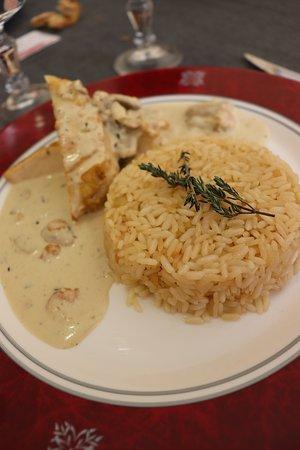 Le Restaurant D'Application - Les Gourmands Disent: Suprême de Volaille et son riz pilaf