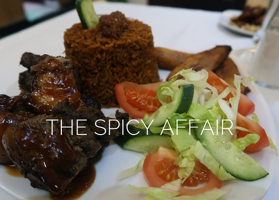 The Spicy Affair: Jollof Rice