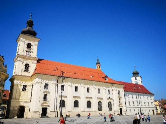 Private Tour from Brasov to Sighisoara and Sibiu with Hotel Pick up and Drop off: Holy Trinity church in Sibiu