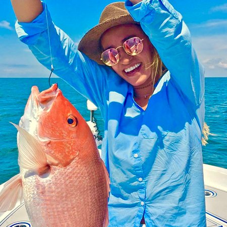 Beautiful Red Snapper caught out of Pensacola, FL!