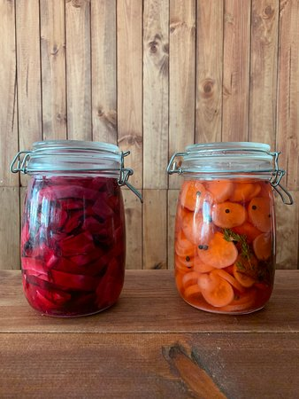 Frei Contente: Home made pickles