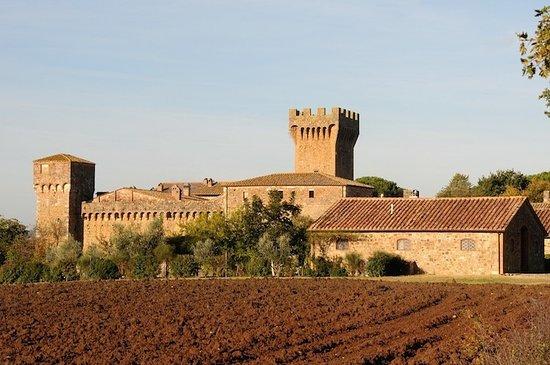 פיינזה, איטליה: Castello di Spedaletto