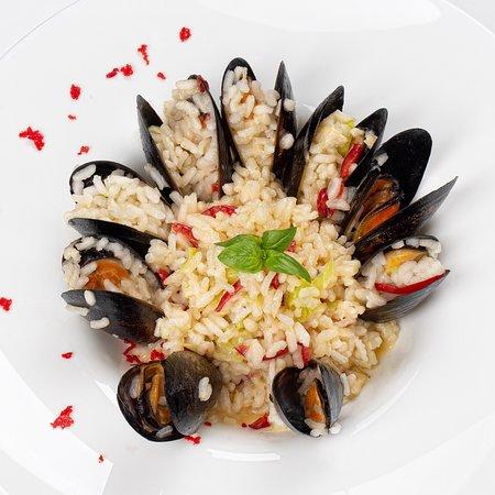 Ризотто с мидиями - Итальянское блюдо в лучших традициях