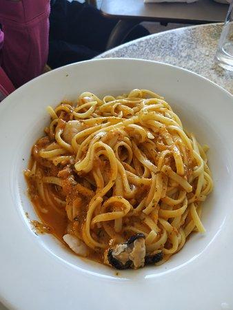 Espaguetis marinera