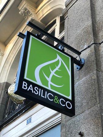 Enseigne Basilic & Co