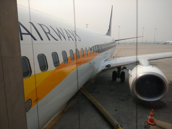 Jet Airways [no longer operating]: Flight Experience from DEL to ATQ , in Oct 2018