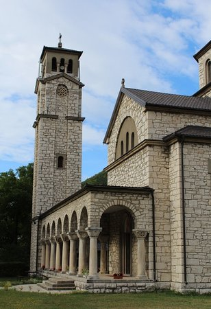 Vista laterale Temple of Saint Sava