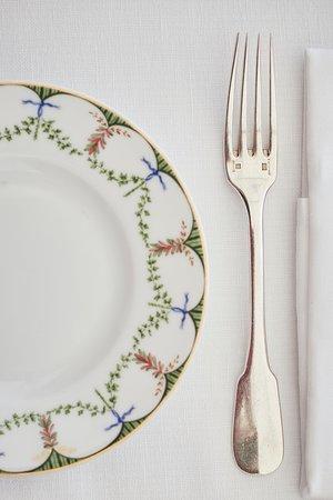 La Terrazza: A detail of the table setup