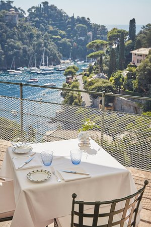 La Terrazza: The view from our restaurant