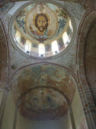 Абхазия. Пицунда. Роспись потолка Патриаршего храма.