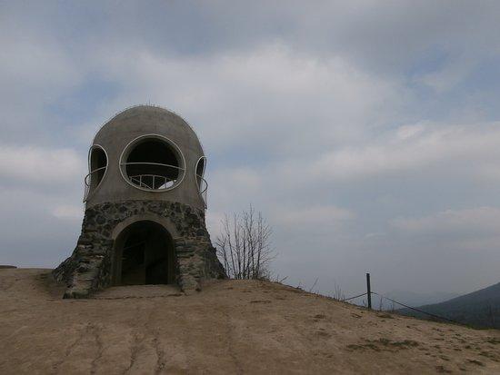 Csehország: Rozhledna Růženka - stojí na Pastevním vrchu v obci Růžová v okrese Děčín v Ústeckém kraji