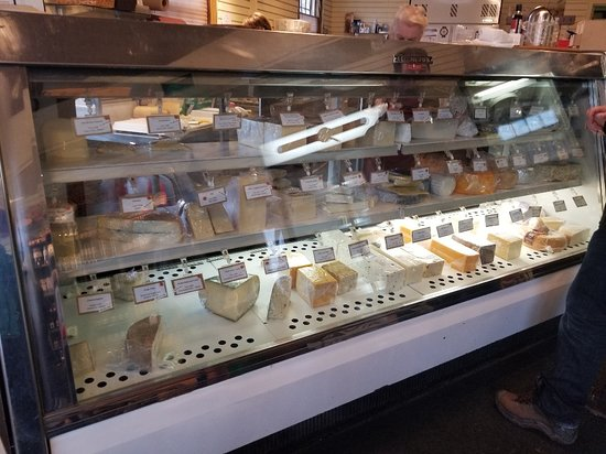 Winter Wonderland Food Tour in Niagara-on-the-Lake: Cheese Secrets!!   Great place if you are a cheese lover.....so much to choose from....bet you can't buy just one!