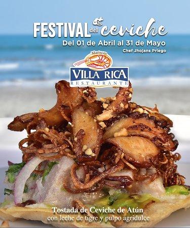 ¡YA INICIO! el #FestivaldelCeviche 😋🐟🐙🦀 Del 1 de Abril al 31 de Mayo ¡Te esperamos! en cualquiera de nuestras sucursales en #Veracruz o #cdmx