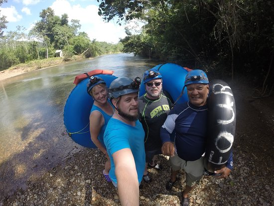 Caves Branch, Belize: A great tube tour through the river at Nohoch Che'en