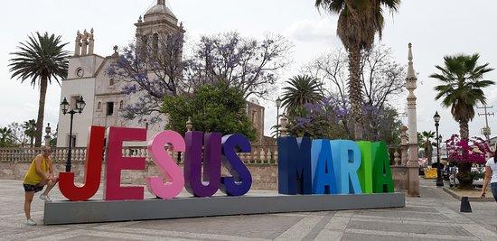 Jesus Maria, Mexico: Plaza principal