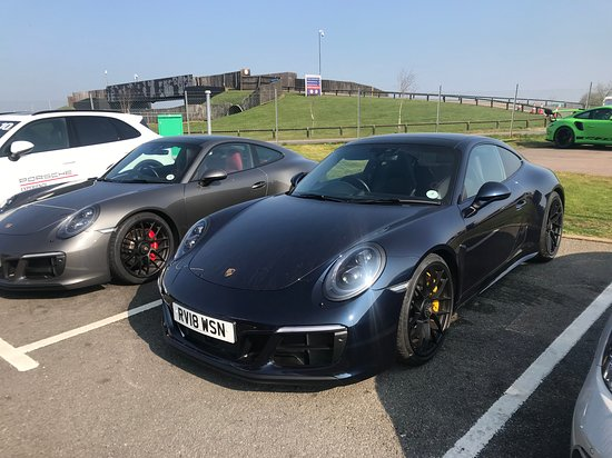 Porsche Experience Centre: The cars we drove.