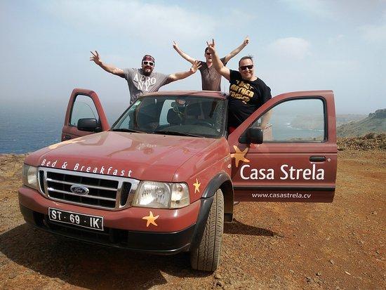 Tarrafal, Cabo Verde: Tour Car