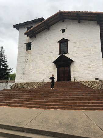 Rebuilt Mission - great example of the 21 California missions