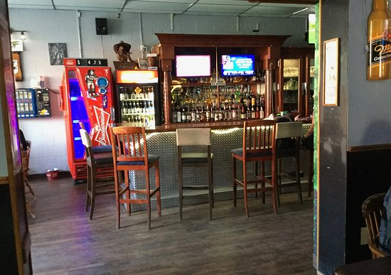 Inside view - at the bar seating.