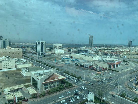 Sheraton Dammam Hotel & Convention Centre: Photo from club lounge