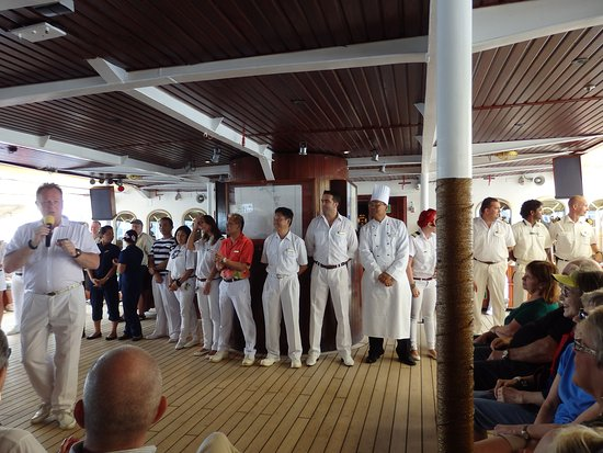 Crew of Royal Clipper