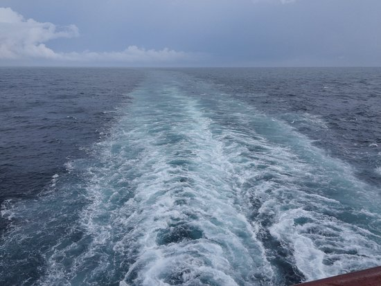 Carnival Pride: View from the balcony