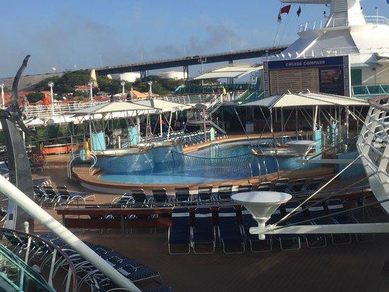 Vision of the Seas: Main Pool Deck