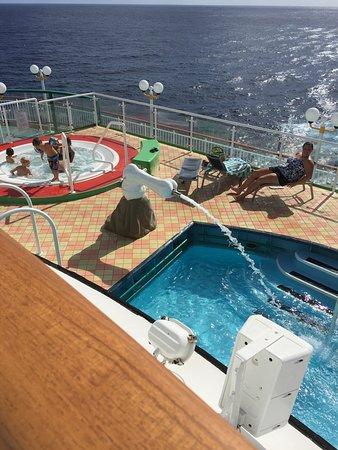 Norwegian Dawn: Glad my children were not on board