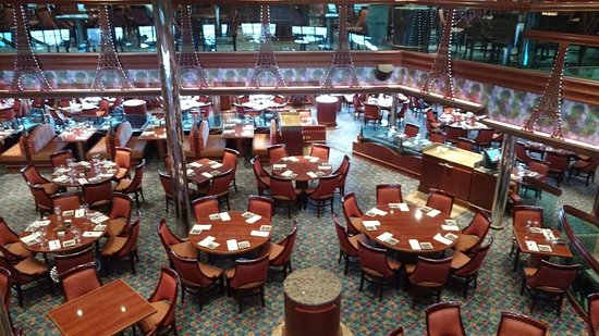 Carnival Conquest: The Renoir Restaurant (Main Dining Room).