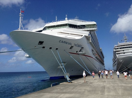 Carnival Triumph: While a small ship it is still very big compared to others