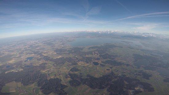 Bernau am Chiemsee, เยอรมนี: Chiemsee aus 3000 m