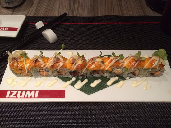 Delicious sushi at Izumi on board the Vision of the Seas