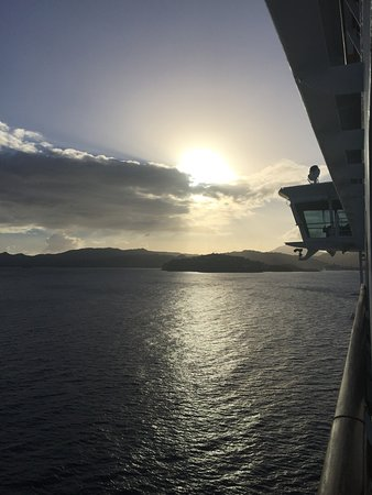 Adventure of the Seas: View from room!