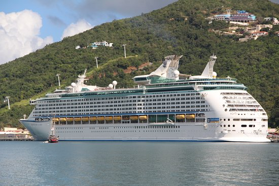 Adventure of the Seas: Parked at St. Thomas